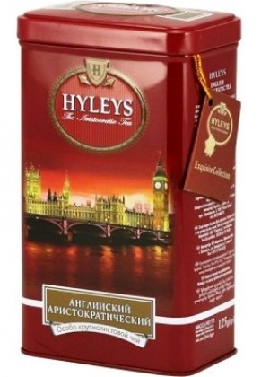 Чай черный «Hyleys» English Aristocratic Tea, жесть